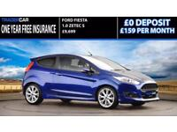 Ford Fiesta 1.0 EcoBoost 2015 Zetec S - FREE INSURANCE!!!