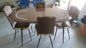 Vintage Table and Chair Set
