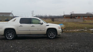 2007 Cadillac Escalade EXT Pickup Truck-DUAL PROPANE AND GAS