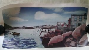'Harbour View' Jamie Halliday Signed and Numbered Print
