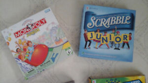 Children's board games - 4 different and fun games