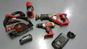 Skil 18v tool set