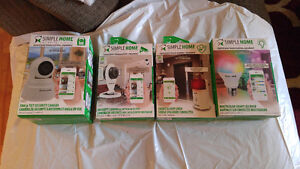 Simple Home- Security Systems Comatable With Smart Phones