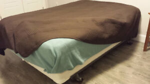 Double Bed - Box spring and frame included