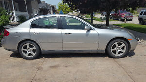 2003 Infiniti G35 Leather Sedan Luxury Fully Loaded w/NAV+Snows