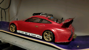 SAKURA D4 Drift Car  CustomPorsche GT3RS Body