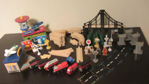 Thomas the Train tracks and accessories