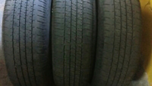 195/65/r15  or  185/65/r15   SUMMER TIRES