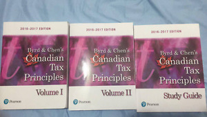 2016-2017 Byrd & Chen's Canadian Tax Principles