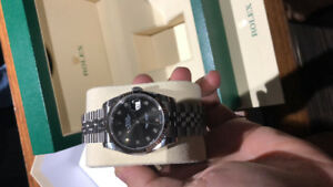 Rolex date just 36mm brand new with papers and box Meet at rolex