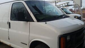 2000 Chevrolet Express Fourgonnette, fourgon