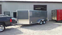 """all ALUMINUM Low boy special 7x14"""" Snowmobile Trailer"""