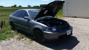 1997 Honda Civic SI Turbo Coupe (2 door)