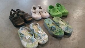 Girls sz 8 Shoes 5 Pairs