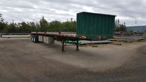 2006 Transcraft 48' flatbed trailer