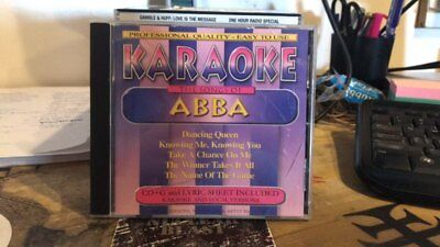 Various Artists : Karaoke: Songs of Abba - CD - L.N. - Free 1st Class Shipping!!