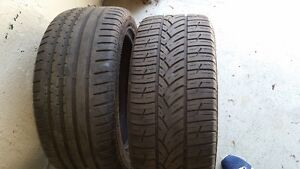 high end tires for sale -good tread left West Island Greater Montréal image 1