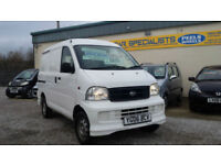 2006 (06) Daihatsu Extol 1.3 WHITE * WORKS PANEL VAN CARRY * IDEAL CAMPER