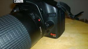 Canon Rebel T1i with 75-300mm EF USM III lens