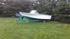Fiber glass boat for sale