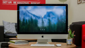 "Apple iMac 27"" 5K Retina Display (Late 2015 Model) + 500 GB SSD"