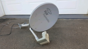 Antenne satellite Bell Soucoupe