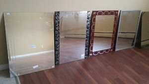 mirror in the boxes