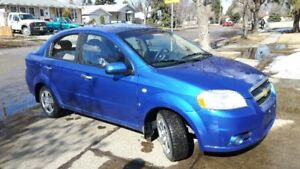 LOW KMS!!!   2008 Chevrolet Aveo LT Sedan Excellent Condition!!