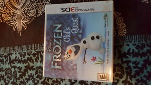 Gently  Used Frozen Olaf's Quest for Nintendo 3DS