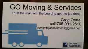 GO Moving & Services - Price list included
