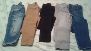 Brand name jeans size 00