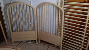 Lit Bebe Solide - Crib Pine Wood