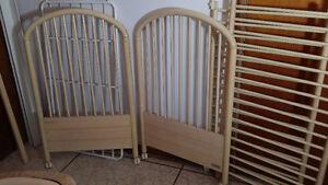 Lit Bebe Solide - Crib Pine Wood