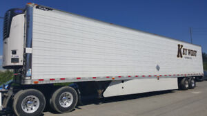 2012 & 2013 53' GREAT DANE & UTILITY REEFER TRAILERS FOR SALE