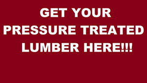 Pressure Treated Fence, Deck, Posts, PT SALE 6x6 1x6 5/4x6 4x4