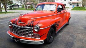 Dodge D24 coupé 1948 TRÈS RARE