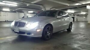 Mercedes E320 - Reduced!! Mint, no rust w/winter tires