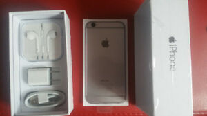64GB IPHONE 6 FACTORY UNLOCKED NEW CONDITION BOX/ACCESSORIES