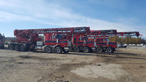 2012 Western Star 4900SB Tri-drive Drilling Rig 3 to choose from