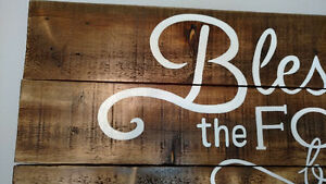 Custom painted sign - I will take special orders!