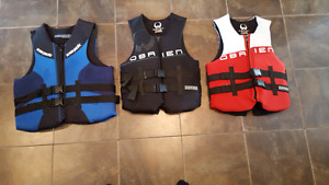 O'BRIEN & PACIFIC LIFE JACKETS