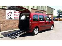 2012 Renault Kangoo Automatic Wheelchair Disabled Accessible Vehicle
