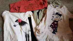 Girls size 5/6 tops