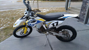 2014 Husqvarna FE350 with many features & upgrades