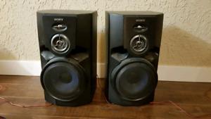 OBO Pair of Sony Speakers