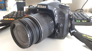Nikon D7100 and 18-55mm len with UV