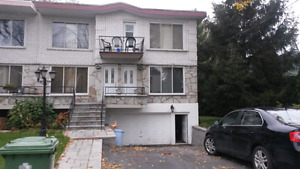 Dorval upper duplex available July 1st