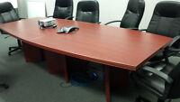 10 foot Boardroom Table
