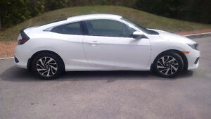 Mint 2016 Honda Civic Coupe (2 door)