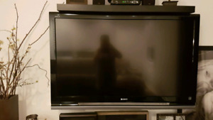 "Sony 52"" Sony TV (wall mount included)"